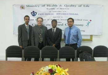 During 2nd Award Ceremony for Neonatal Ventilation and NICU Nursing courses: Jan 2013